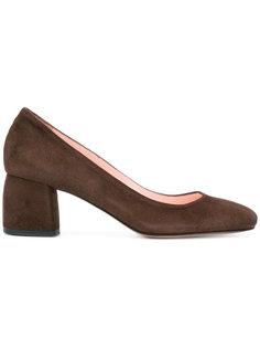 туфли-лодочки на блочном каблуке Anna F.