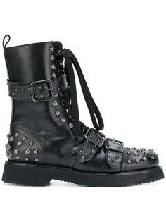 """ботинки в стиле """"милитари"""" с заклепками Anna F."""