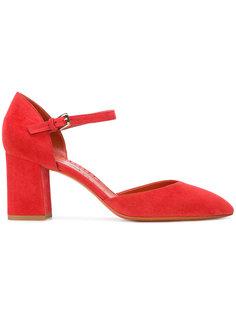 туфли с заостренным носком Santoni