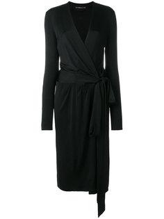 midi wrap dress Alexandre Vauthier