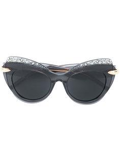 oversized cat-eye sunglasses Pomellato