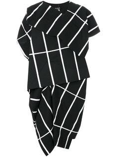 boxy printed layered dress Junya Watanabe Comme Des Garçons