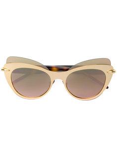 """солнцезащитные очки в оправе """"кошачий глаз"""" Pomellato"""