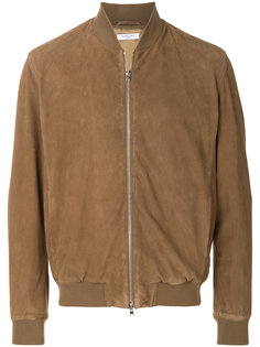 zipped bomber jacket Boglioli