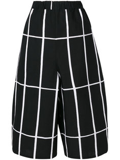 printed cropped trousers Junya Watanabe Comme Des Garçons