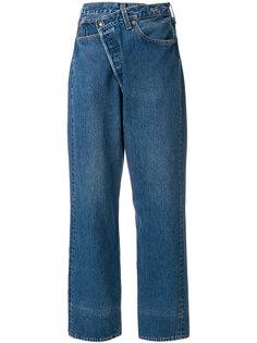 асимметричные джинсы  R13