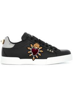 кроссовки Portofino Sacred Heart Dolce & Gabbana