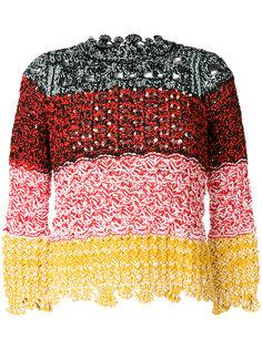 свитер с фигурным краем  Sonia Rykiel
