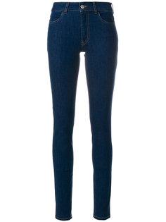 джинсы скинни с завышенной талией  Prada