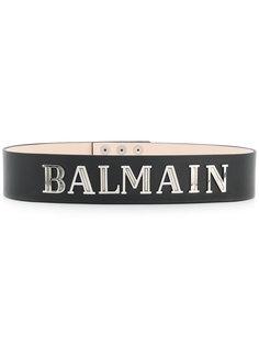 ремень с логотипом Balmain