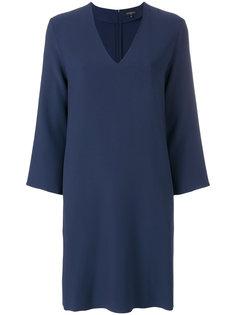 платье-шифт с V-образным вырезом Antonelli