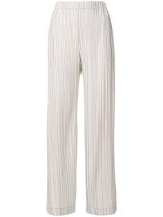 широкие плиссированные брюки  Antonelli