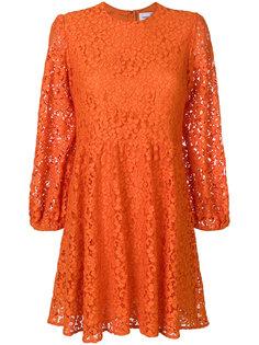 кружевное расклешенное платье Dondup