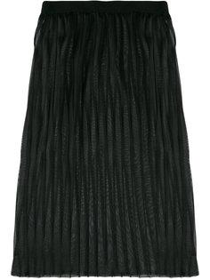 многослойная плиссированная юбка Dondup