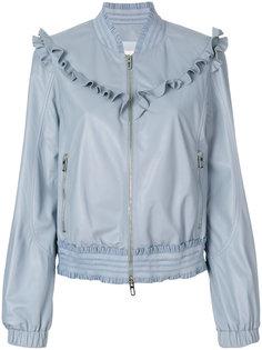 куртка-бомбер с оборками Drome
