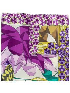 шейный платок с принтом Cha•Val Milano