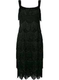 платье шифт с бахромой  Marc Jacobs