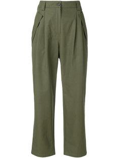 брюки карго с завышенной талией  Valentino