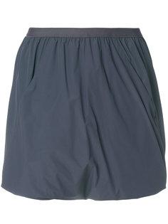 юбка-шорты с драпировкой  Rick Owens