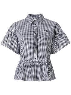 рубашка с объемными рукавами McQ Alexander McQueen