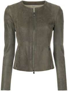 приталенная байкерская куртка Drome
