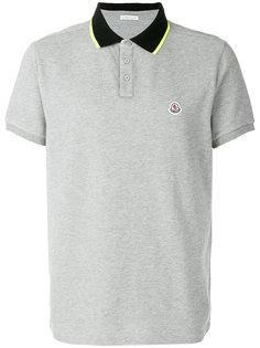 топ-поло с логотипом  Moncler