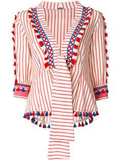 блузка с вышивкой и кисточками  Dodo Bar Or