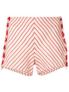 шорты в полоску с кисточками  Dodo Bar Or