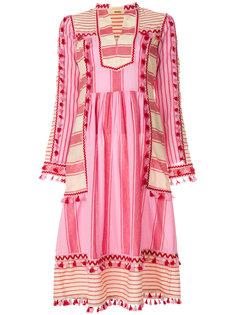 платье в полоску с кисточками  Dodo Bar Or
