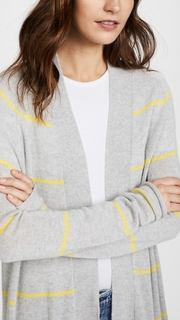 Autumn Cashmere Pencil Stripe Open Cardigan