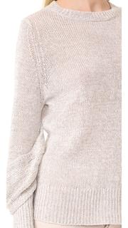 Brochu Walker Mead Draped Sleeve Pullover