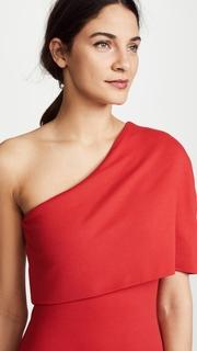 Michelle Mason Asymmetrical Cocoon Dress
