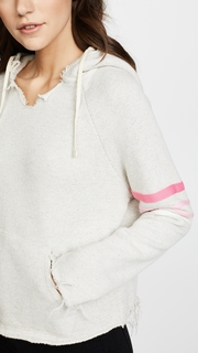 MOTHER The Square Tear Raw Hoodie