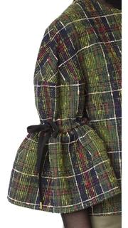 Stella Jean Ruffle Sleeve Top