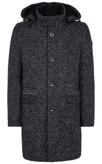 Утепленное полушерстяное пальто S.Oliver Casual Man