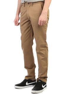 Штаны прямые Fred Perry Texture Trouser Coffee Brown