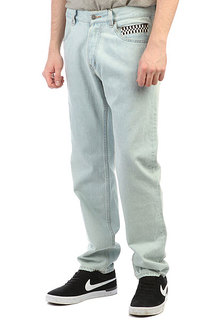 Джинсы прямые The Hundreds Diminish Pants Light Wash