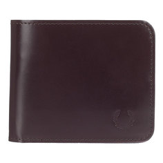 Кошелек Fred Perry Leather Billfold Wallet Brown