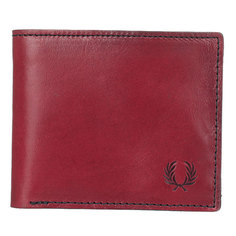 Кошелек Fred Perry Geometric Billfold & Coin Wallet Brown