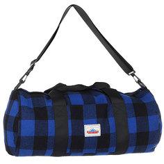 Сумка спортивная Penfield Fox Buffalo Plaid Bag Blue