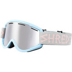 Маска для сноуборда Shred Nastify Gum Drops Platinum Baby Blue