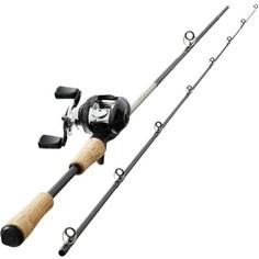 Набор Удилище + Катушка Для Ловли Хищной Рыбы Wixom-1 180ml Casting Caperlan