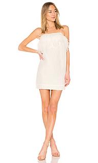 Платье с перьями pellew - Aje