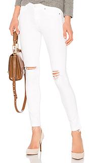 Узкие укороченные джинсы средней посадки nico - Hudson Jeans