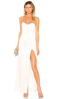 Вечернее платье без бретелек jamie - Lovers + Friends