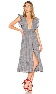 Платье миди mistwood - MAJORELLE