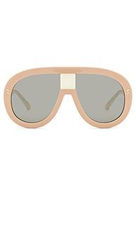 Солнцезащитные очки oversize aviator - Stella McCartney