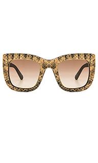 Солнцезащитные очки python & leopard square - Stella McCartney