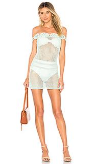 Кружевное платье с открытыми плечами izzy - Tularosa