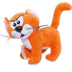 """Мягкая игрушка  Кот Азраэль, со звуком, 20 см, """"Смурфики"""", МУЛЬТИ-ПУЛЬТИ"""